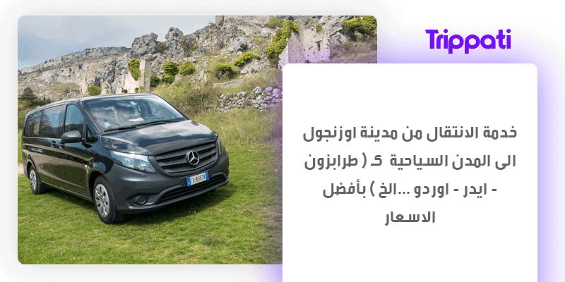 سائق في الشمال التركي
