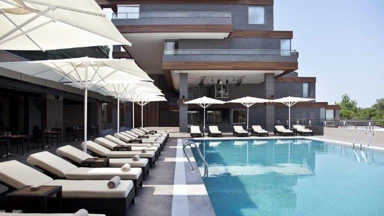 مسبح فندق ديفان بورصا