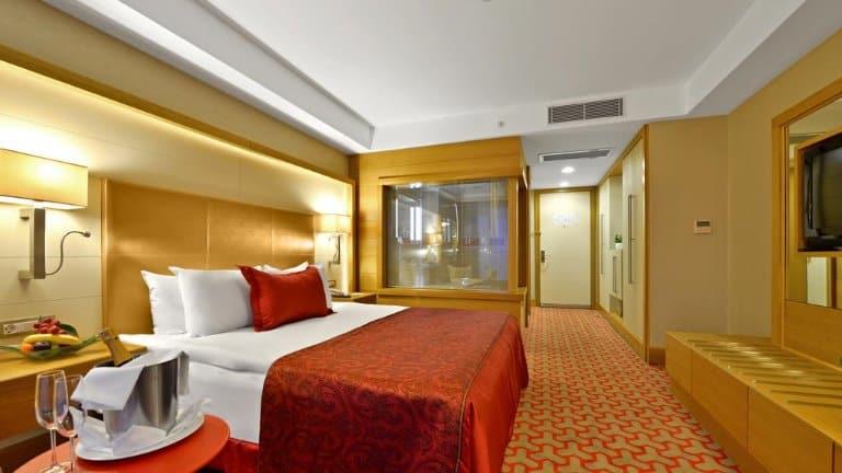 غرفة دبل في فندق ديفان بورصا