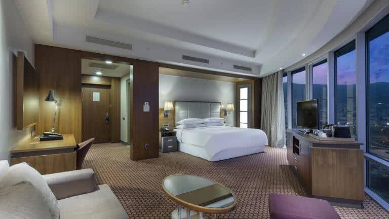غرفة فندق شيراتون بورصة