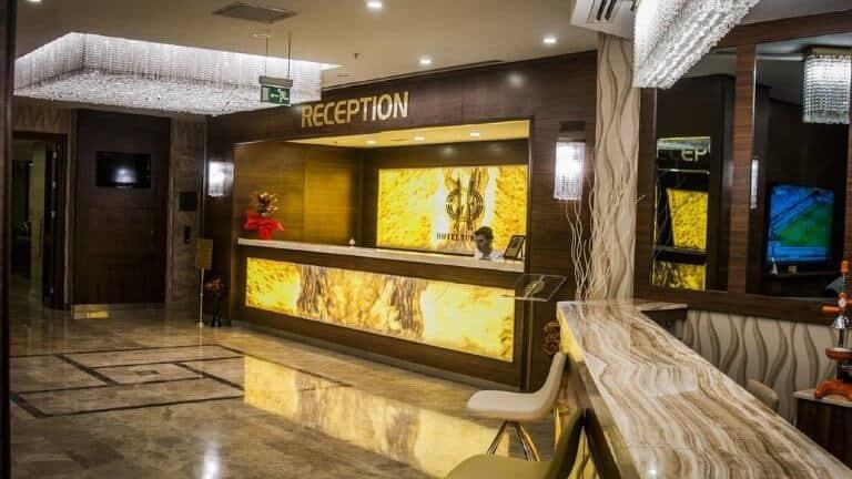 اللوبي فندق غراند تركواز