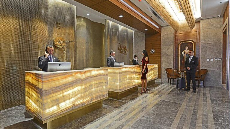 اللوبي فندق ميركيور بورصة
