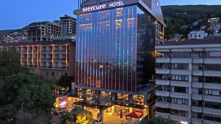 فندق ميركيور بورصة من الخارج