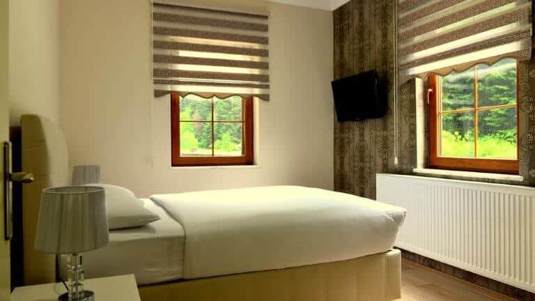 غرفة نوم اكواخ ياشايل رماك اوزنجول