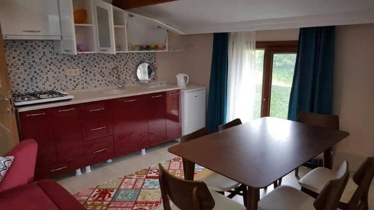 مطبخ شقق كومفورت ريزيدنس اوزنجول