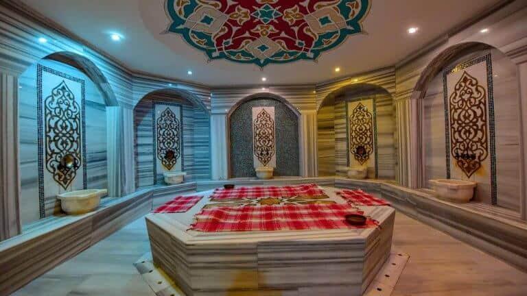 حمام تركي في فندق اوندر اوزنجول