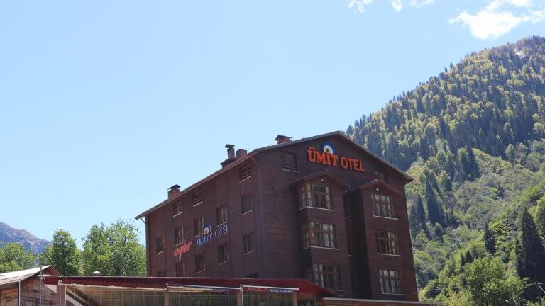 فندق ايدر اوميت من الخارج