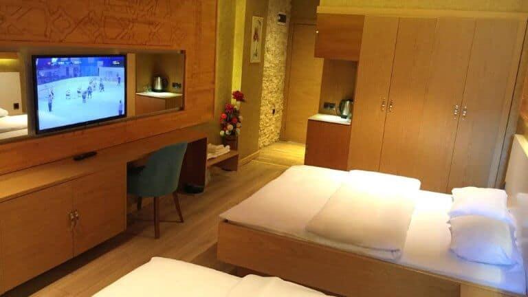 غرف فندق حسين انان اوزنجول