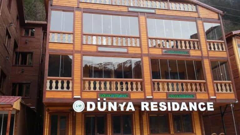فندق دنيا ريزيدنس اوزنجول من الخارج