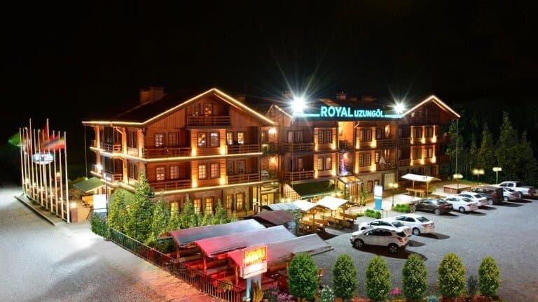 فندق رويال اوزنجول من الخارج