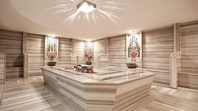 حمام تركي في فندق رويال اوزنجول