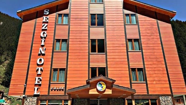 مدخل فندق سيزجين اوزنجول