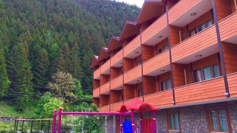 فندق سيزجين اوزنجول من الخارج