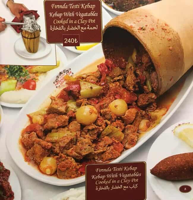اسعار مطعم الشيف بوراك