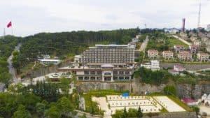 فندق على الجبل بين الطبيعة في طرابزون