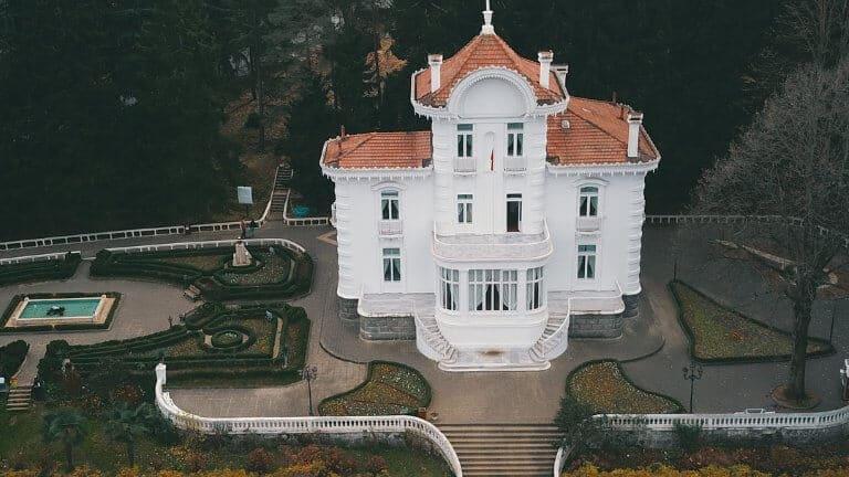 صورة لقصر اتاتورك