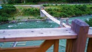اطلالة على نهر وطبيعة في ايدر