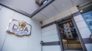 مدخل شقق دعاء طرابزون