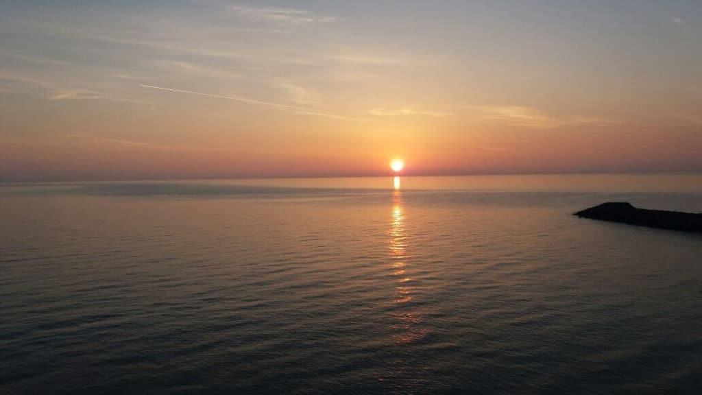 البحر الاسود في طرابزون