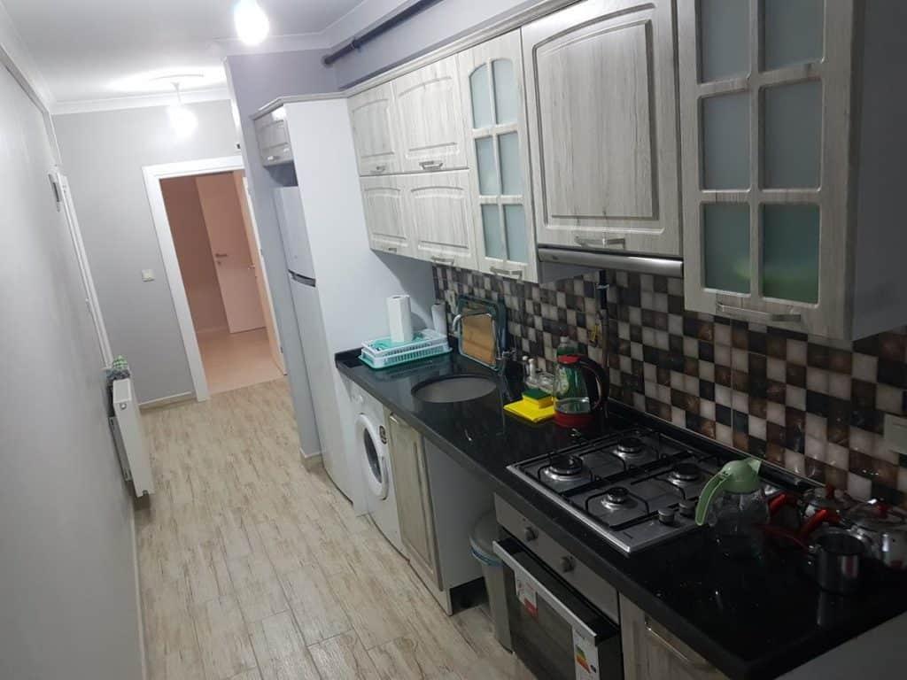 مطبخ وفرن في شقق طرابزون