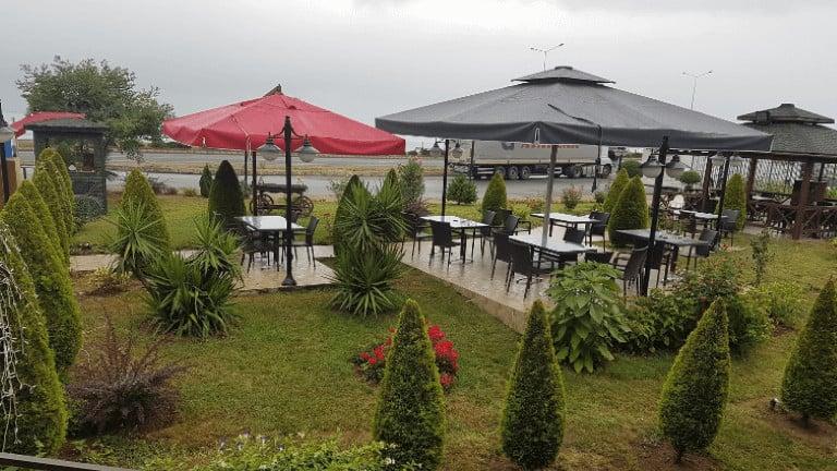 مطعم مع حديقة رائعة وهادئة في طرابزون