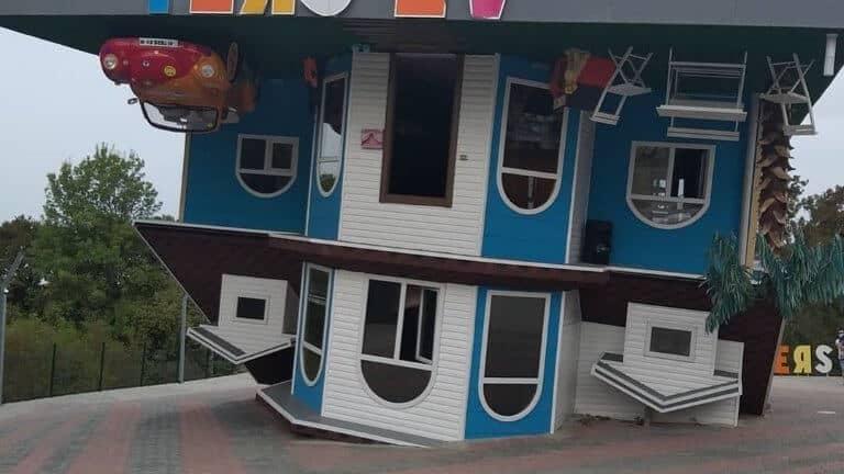 صورة للبيت المقلوب