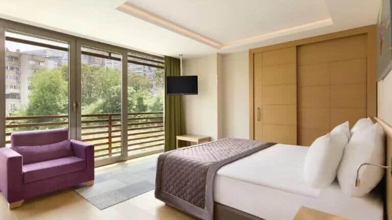 غرف فندق رمادا بورصة 4 نجوم