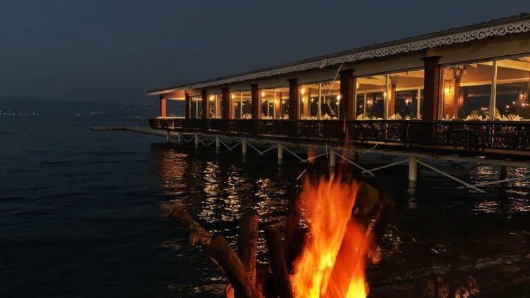 صورة خارجية لمطعم ساسا سبانجا