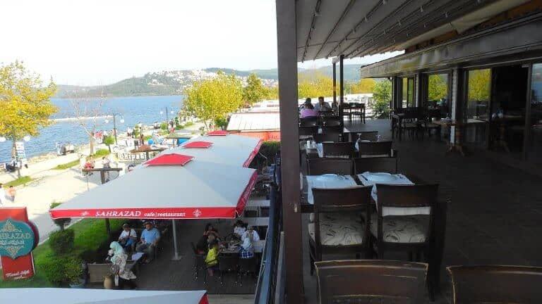 صورة لمطعم شهرزاد على بحيرة سبانجا