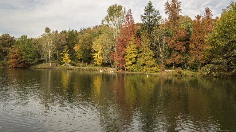 صورة لحديقة اتاتورك بلغراد