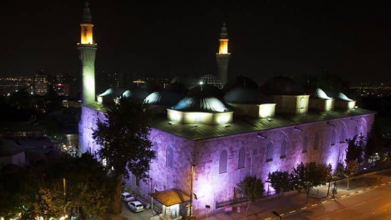 صورة للجامع الكبير في بورصة