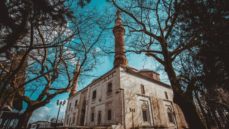 صورة للجامع الاخضر في بورصة