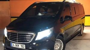 سيارة VIP في اسطنبول مع سائق