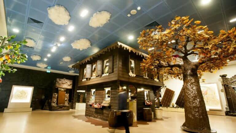 صورة لمتحف الشكولاته