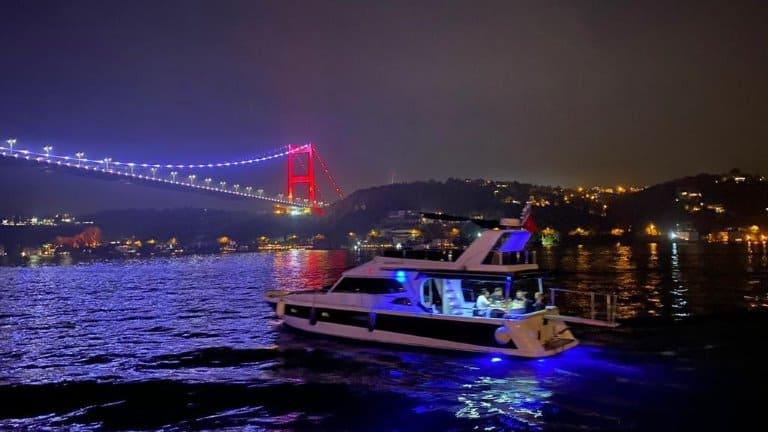 ايجار يخت خاص في اسطنبول