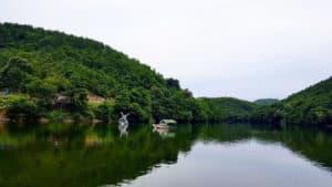 البحيرة المخفية في شيلا