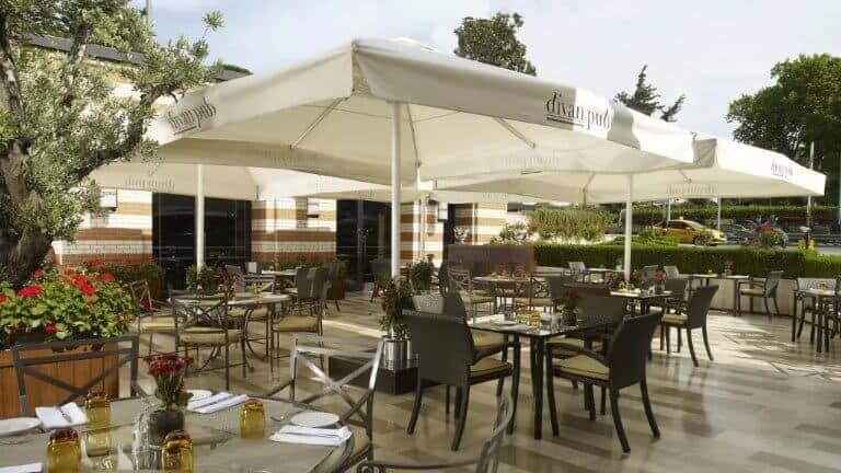 فندق ديفان - من الفنادق القريبة من تقسيم في اسطنبول