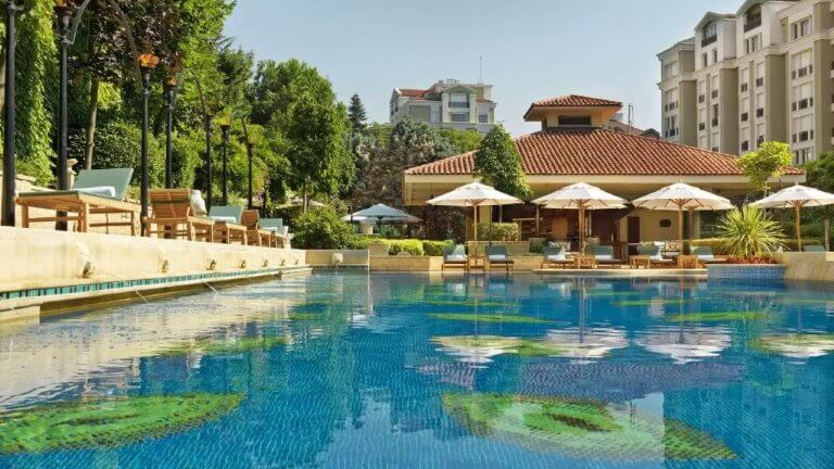 جراند حياة - من فنادق اسطنبول تقسيم 5 نجوم الفاخرة