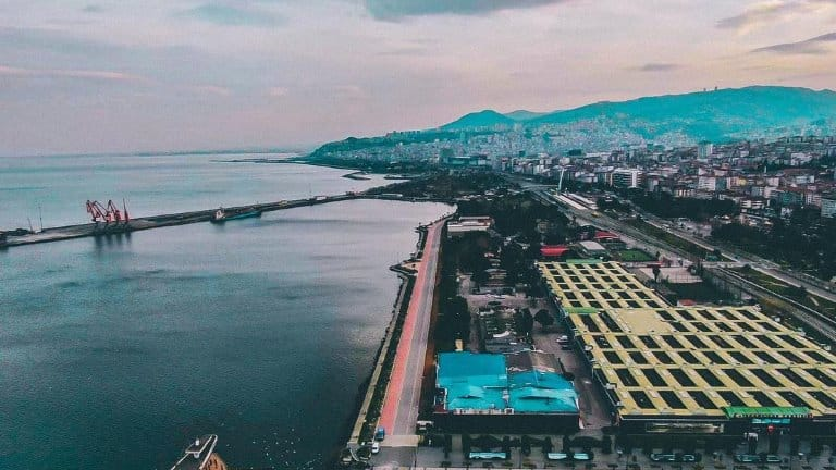 مدينة سامسون تركيا