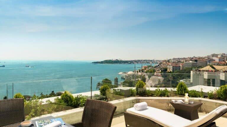 سويس اوتيل البوسفور - من فنادق اسطنبول البسفور الشهيرة