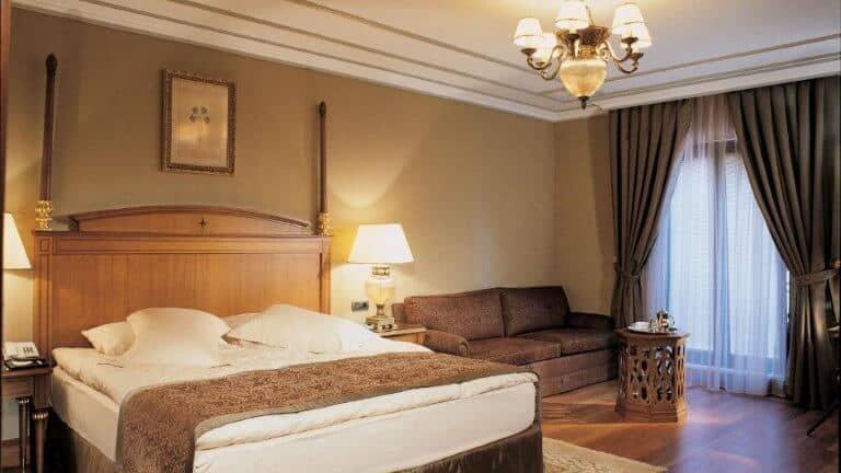 ذا سنترال بالاس - من افضل فنادق تقسيم 4 نجوم