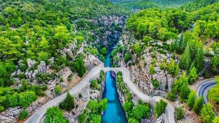 وادي كوبرلو من رحلة إلى تركيا لمدة اسبوع