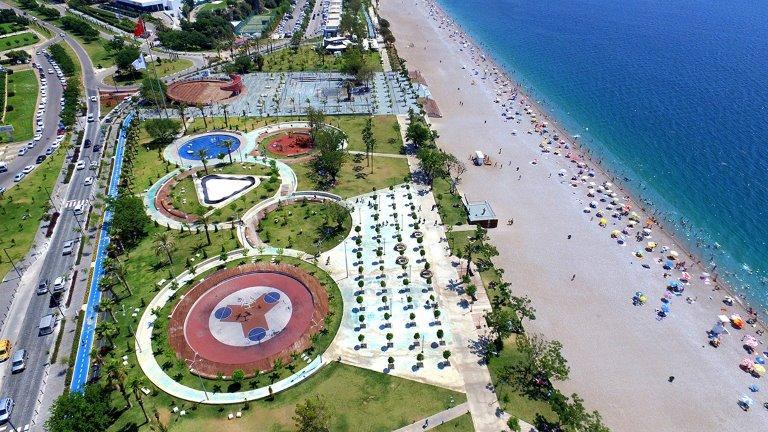 متنزه ساحل أنطاليا يسام بيتش أنطاليا لايف بارك