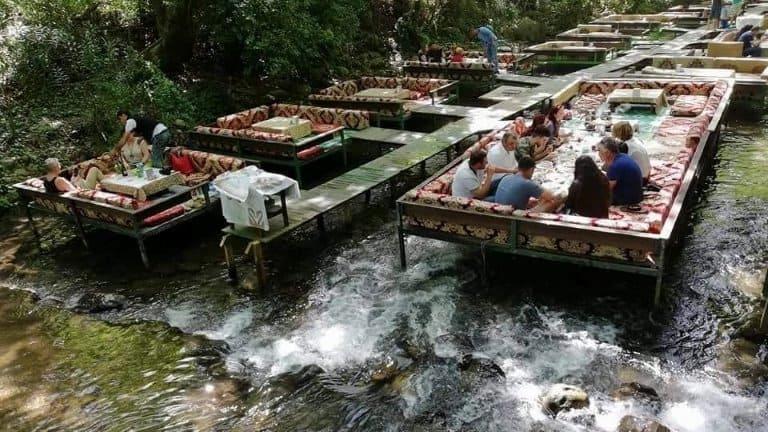 شلالات ومطاعم أولوبينار
