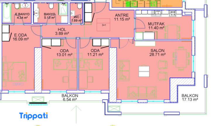 ثلاث غرف وصالة في مجمع فينسيا