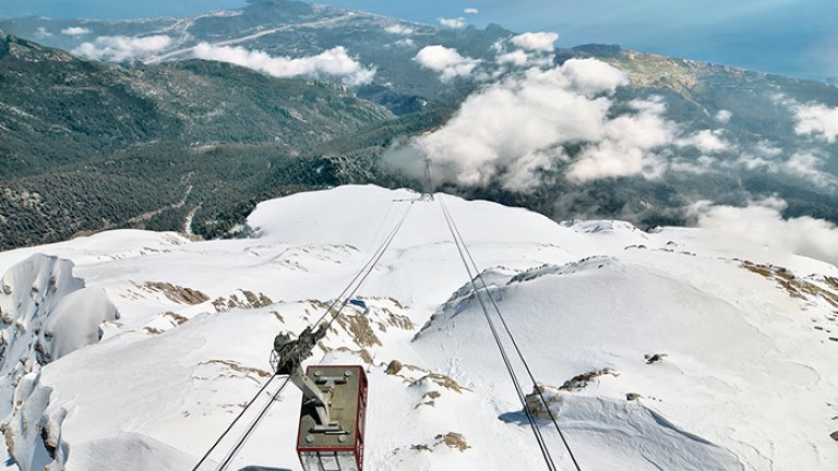 جبل تهتلي ضمن أحد جولات سياحية في أنطاليا