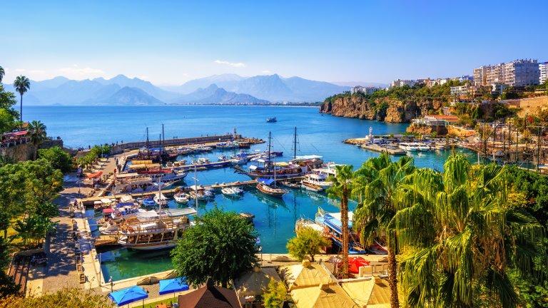 مدينة أنطاليا - السياحة في تركيا