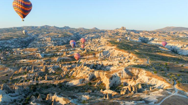 كابادوكيا - السياحة في تركيا