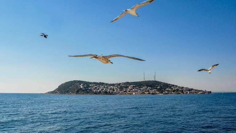 جزيرة الأميرات - الأماكن في تركيا للعوائل