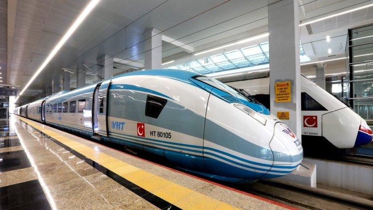 قطار تركيا - السياحة في تركيا
